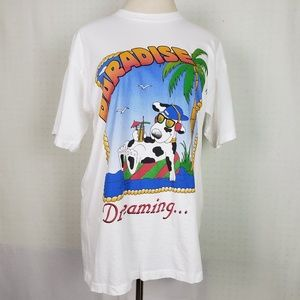 Vintage | Single Stitch Paradise Dreaming Tee XL